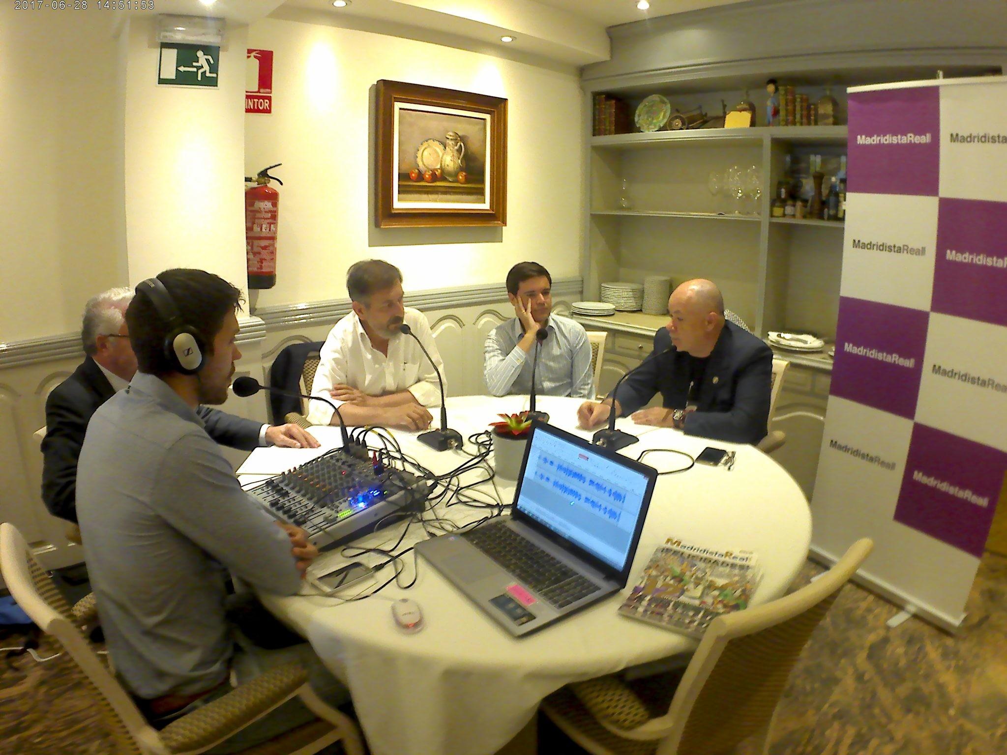 Tertulia Madridista Real 4 (28/06/2017) | Restaurante Ferreiro