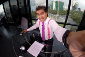 """Rodolfo Landeros: """"La ética y credibilidad es lo más importante del periodista"""""""