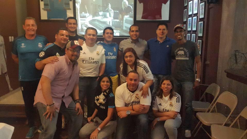 """Peña madridista """"Real Madrid Santo Domingo"""", madridismo en República Dominicana"""