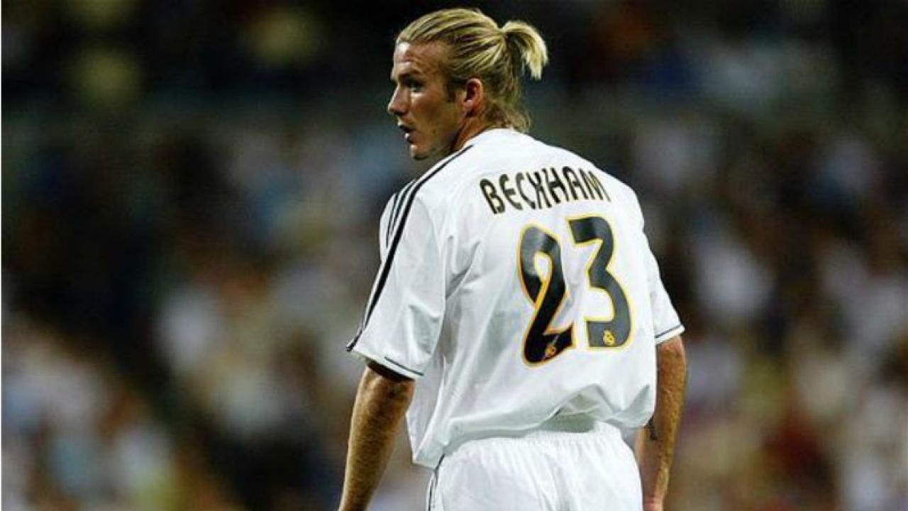 David Beckham, sinónimo de elegancia en el terreno de juego