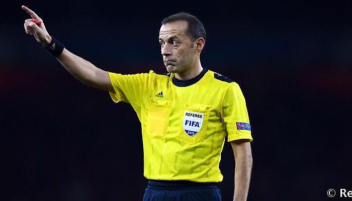 Cüneyt Çakir Çakir arbitrará el Tottenham-Real Madrid