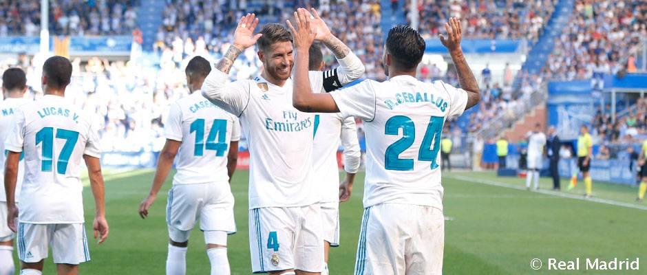 El Real Madrid es el mejor equipo a domicilio de 2017