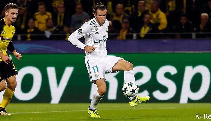El gol de Bale en Dortmund, el mejor de la segunda jornada de la Champions