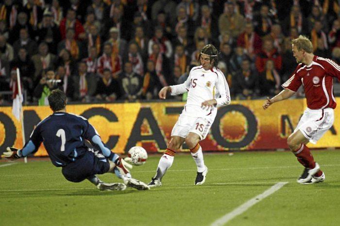 Se cumplen diez años del gol de Sergio Ramos en Dinamarca: El comienzo del 'tiki-taka' de España