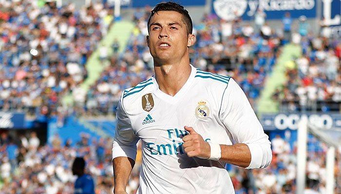 1-2: Un gol de Cristiano Ronaldo da la victoria en Getafe