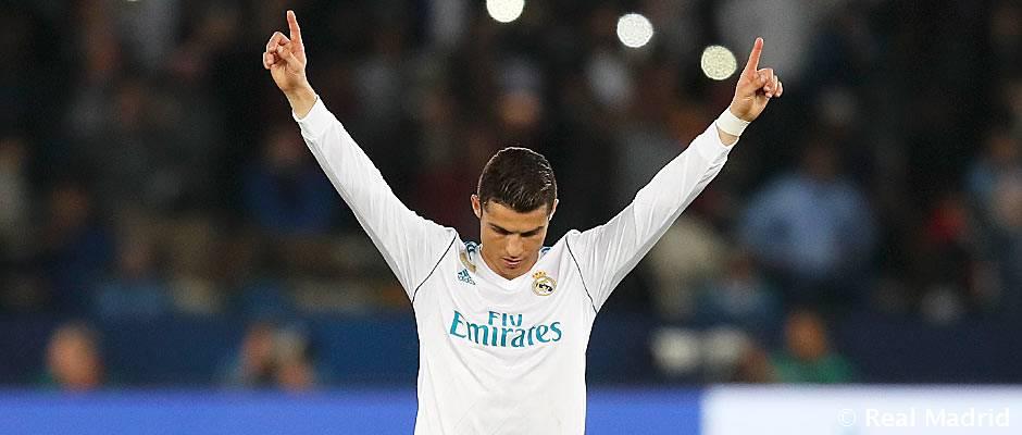 Real Madrid – Gremio Cristiano Ronaldo, MVP de la final