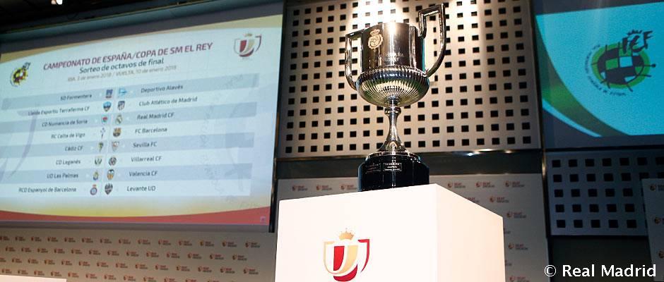 El Real Madrid se medirá al Numancia en los octavos de final de la Copa del Rey