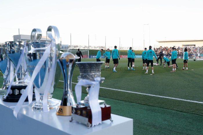 El Real Madrid regresó a los entrenamientos con una sesión especial