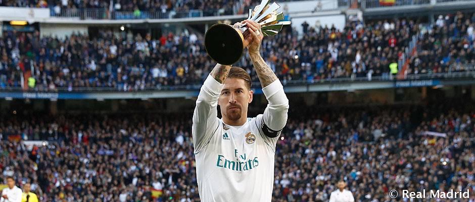 El equipo ofreció el sexto Mundial de Clubes al Bernabéu