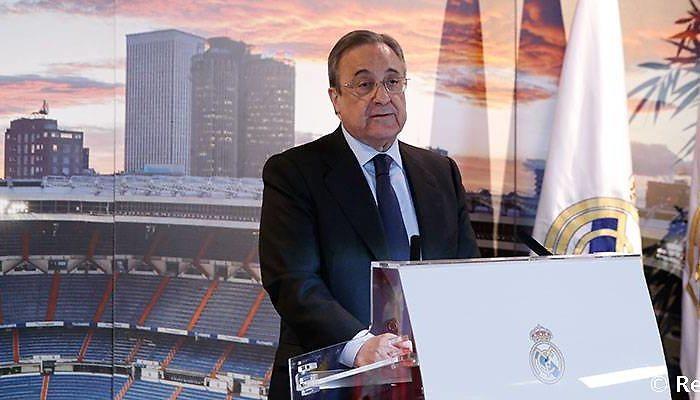 Florentino Pérez presidió la comida de Navidad con los medios de comunicación