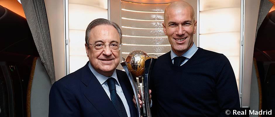 "Florentino Pérez: ""Somos justos merecedores de este sexto campeonato del mundo"""