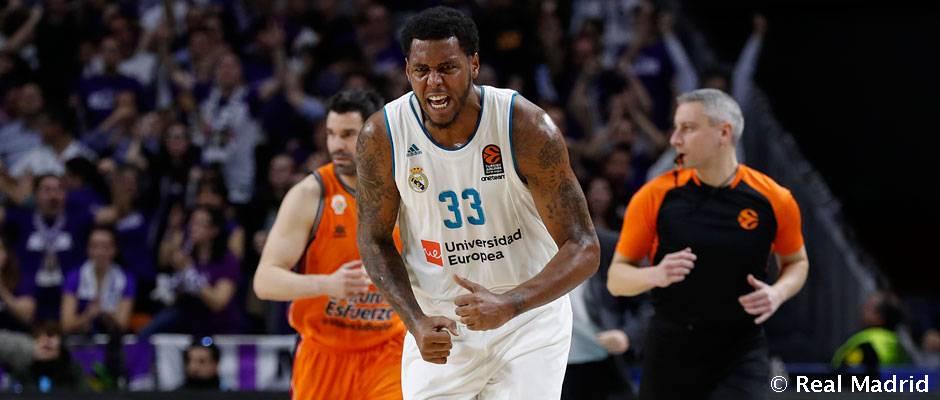91-72: Un Madrid enorme no da opción al Valencia Basket