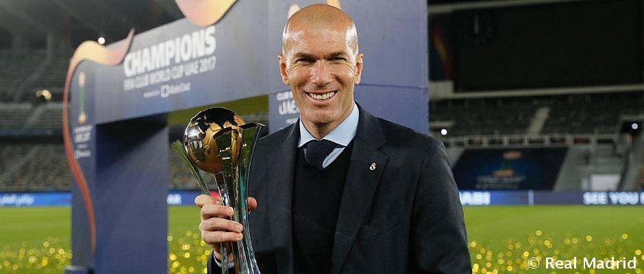 """Zidane: """"Hicimos un partidazo y estoy contento por el título"""""""