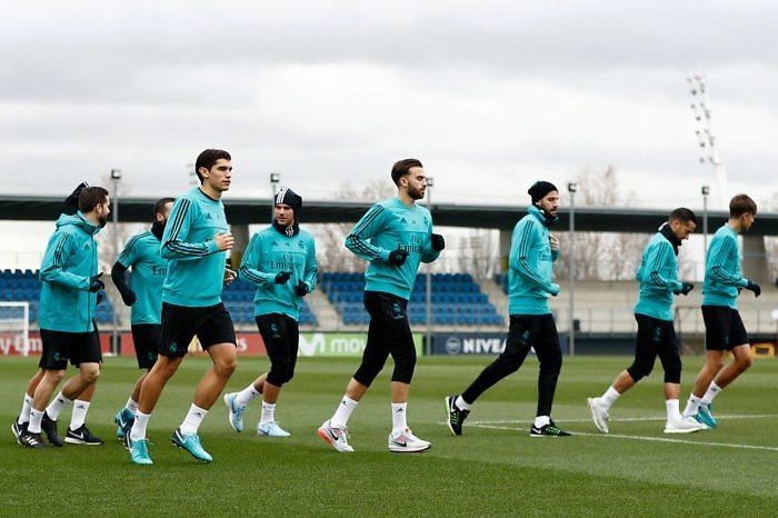 El equipo comenzó a preparar el partido ante el Celta