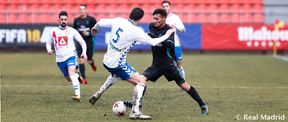 3-1: El Rayo Majadahonda corta la racha del Castilla