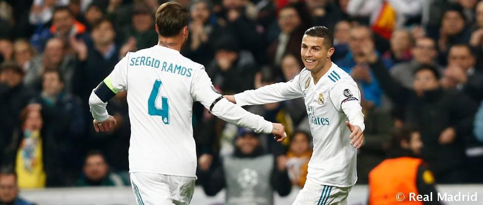 Cristiano, Ramos, Marcelo, Kroos y Modric, en el Equipo del Año 2017 de UEFA.com