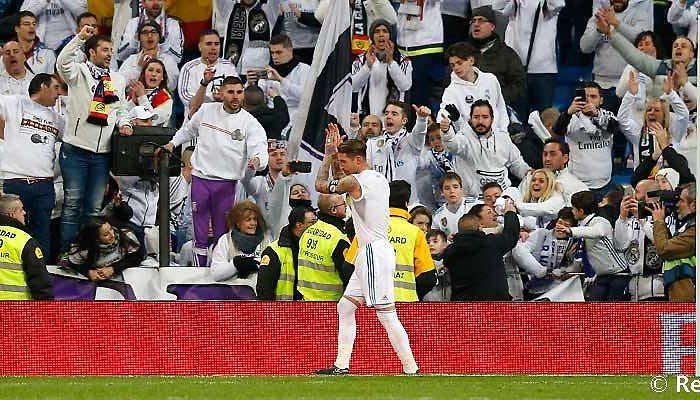 Sergio Ramos convoca a la afición para el partido ante el PSG