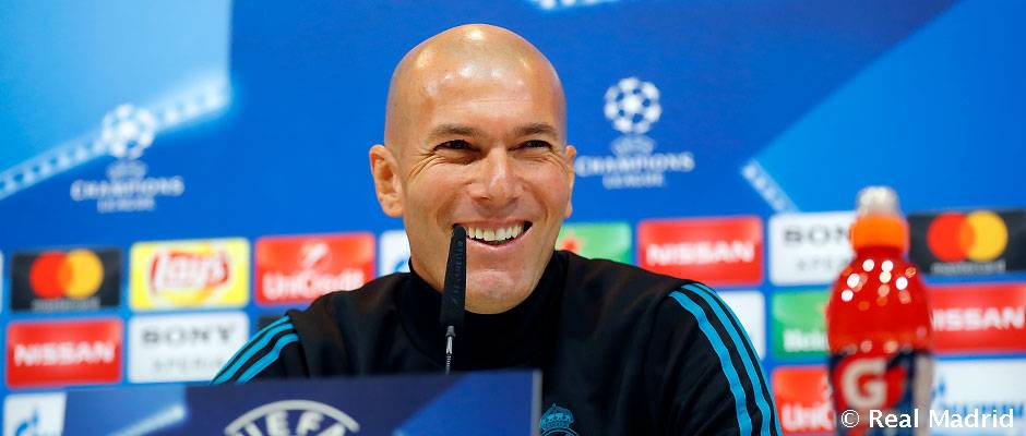 """Zidane: """"Vamos a darlo todo y la afición va a estar con el equipo"""""""