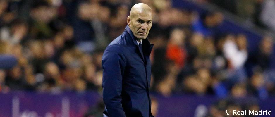"Zidane: ""Estamos disgustados porque son dos puntos perdidos"""