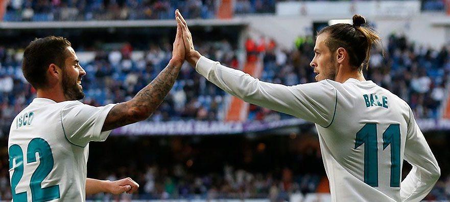 #LigaSantander | Bale lidera a un Madrid goleador (6-0)
