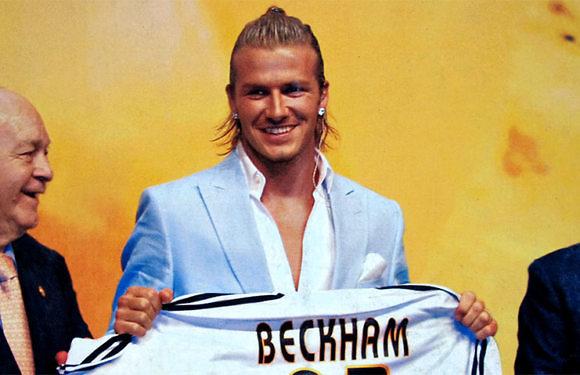 #ApuntesDeLaHistoria | Y llegó David Beckham