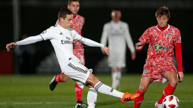 #LaFábrica   Un golazo de Cristo hace colíder al Castilla (1-0)