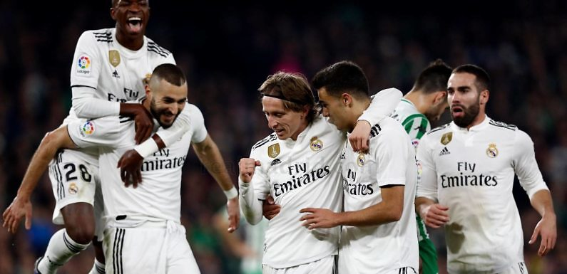 #Minuto93   Real Betis 1 Real Madrid 2 (LaLiga 2018-19)