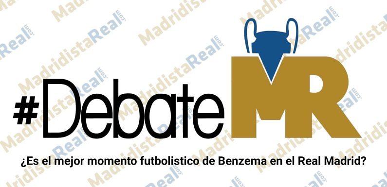 #DebateMR | ¿Es el mejor momento futbolístico de Benzema en el Real Madrid?