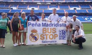 Peña Madridista Bus Stop, madridismo en Salamanca