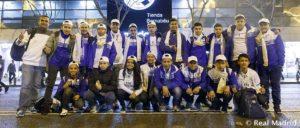 Los alumnos de las escuelas de la Fundación en El Salvador visitan Madrid