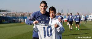 El Ángel del Chapecoense, con el Real Madrid