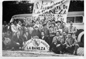 """Peña madridista """"La Bañeza"""", madridismo en León"""