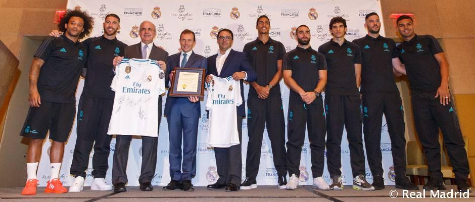 Presentación del Real Madrid Café Miami