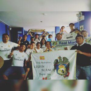 """Peña madridista """"Legión Blanca"""", madridismo en Perú"""