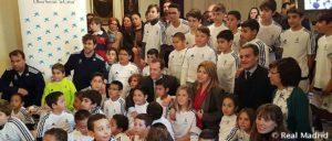 Emilio Butragueño y la Fundación Real Madrid, presentes en Jerez