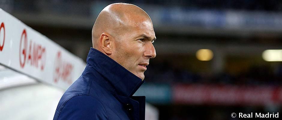 """Zidane: """"Jugamos 90 minutos de gran nivel"""""""