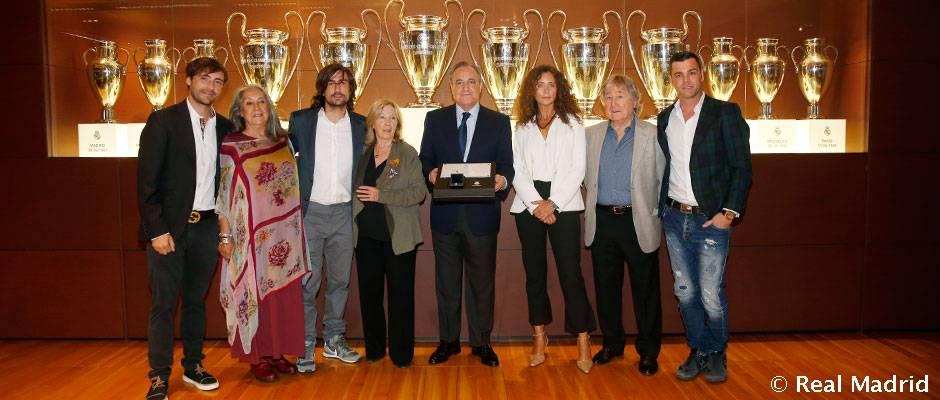 Homenaje del Real Madrid a Ángel Nieto