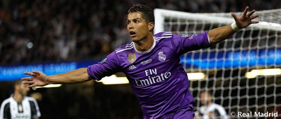 Cristiano encadena cinco ediciones de Champions marcando en la primera jornada