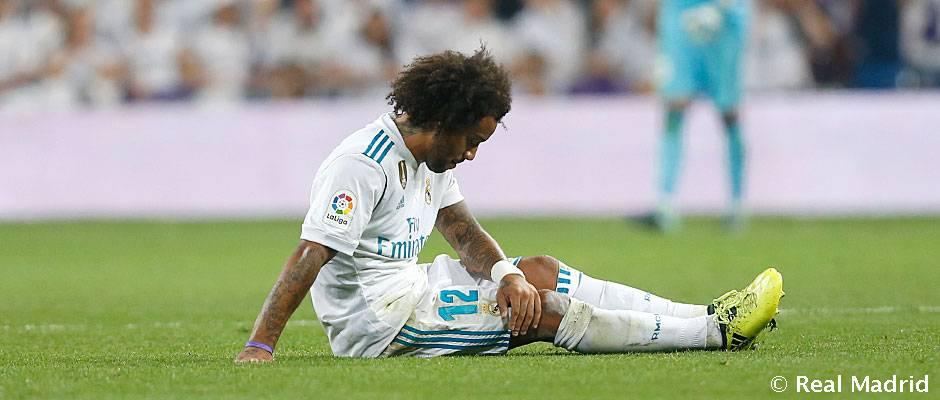 Marcelo sufre una rotura fibrilar