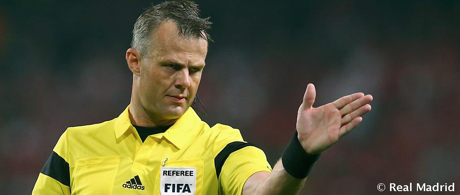 Bjorn Kuipers Björn Kuipers arbitrará el Borussia Dortmund-Real Madrid