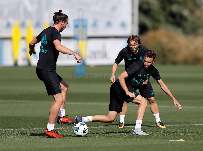 El Real Madrid comenzó a preparar el partido ante el Borussia Dortmund