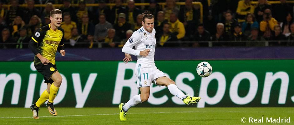 Bale, el madridista que participa en más goles esta temporada