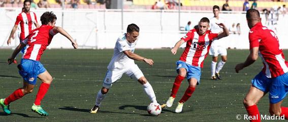 El RM Castilla no pudo contra doce
