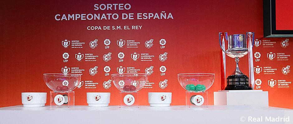 Sorteo de la Copa del Rey 17-18 El Real Madrid conocerá hoy a su rival en los dieciseisavos de la Copa del Rey