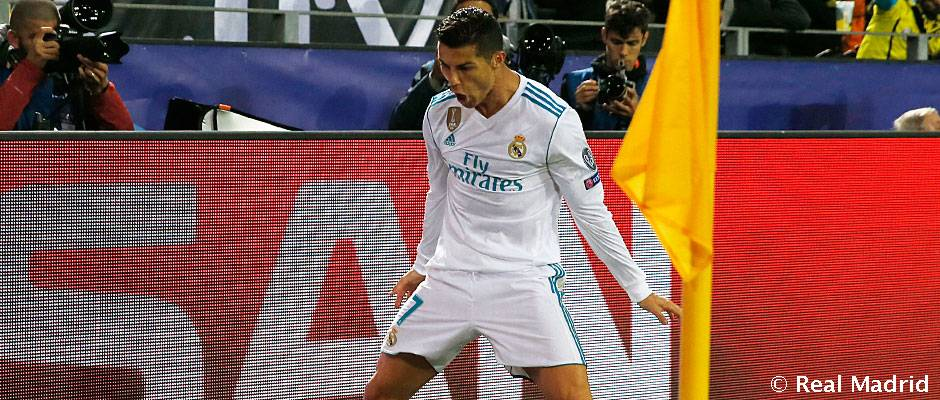La espectacular racha de Cristiano Ronaldo en la Champions
