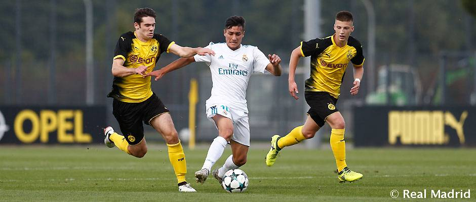 UEFA Youth League: Demasiado castigo para los de Guti