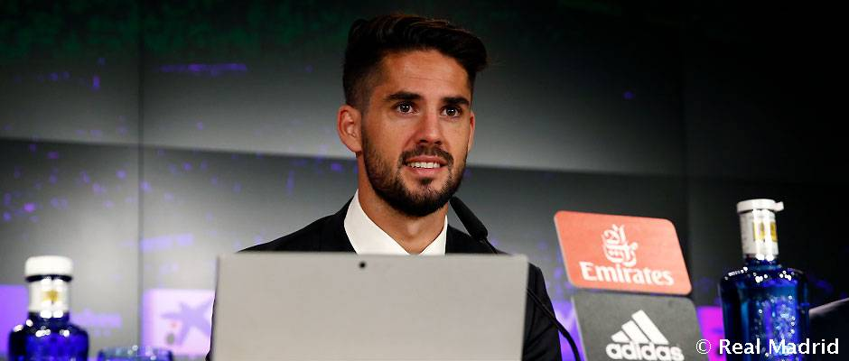 """Isco: """"El Madrid me ha hecho cumplir muchos sueños que tenía desde niño"""""""