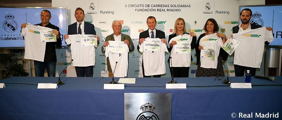 Fundación Real Madrid El II Circuito de Carreras Solidarias de la Fundación arranca el 24 de septiembre