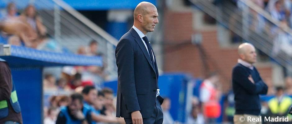 """Zidane: """"Nuestra victoria es merecida"""""""