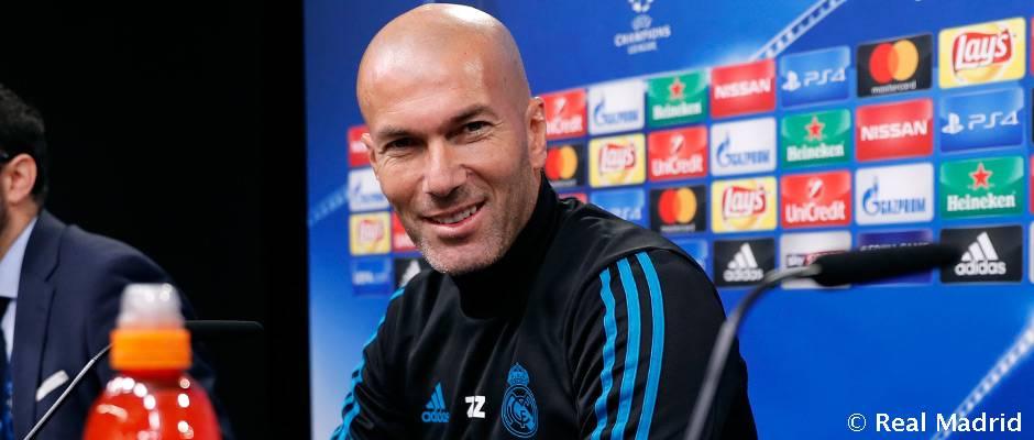 """Zidane: """"En este campo se respira la Champions y es un reto ganar aquí"""""""